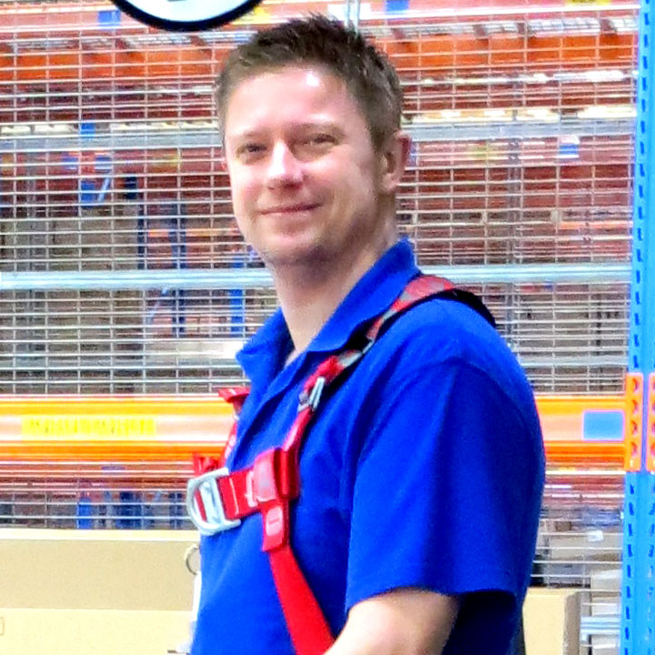 Joachim Hamstra – warehouse operator, MedTech logistiek